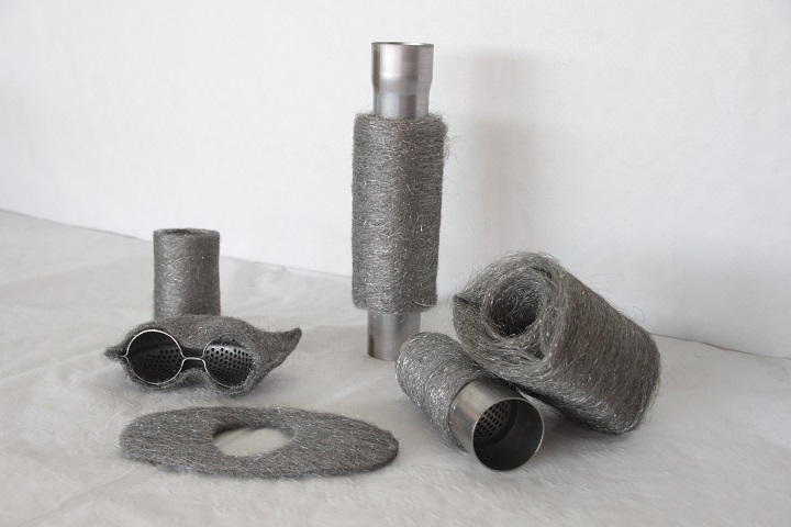 Bild, Rohre und Formteile aus Edelstahl